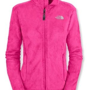 Hot Pink {The North Face} Osito Fleece Full-Zip